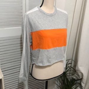 Colorblock long sleeved top